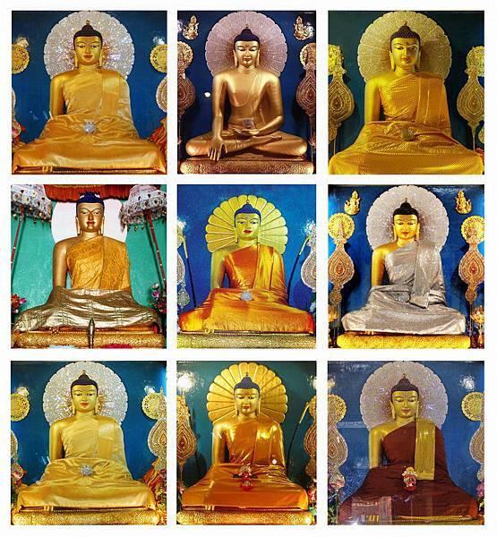 9尊釋迦牟尼佛