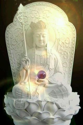 地藏菩薩21白色