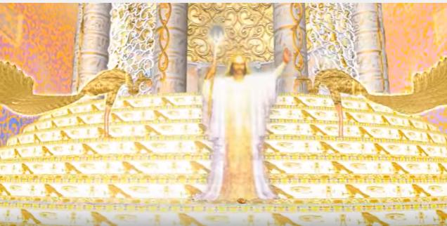 Master Serapis Bey Ascension light