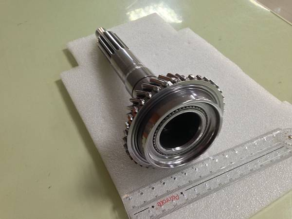 gear shaft polishing 齒輪軸拋光-2