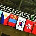 參賽隊伍的旗幟