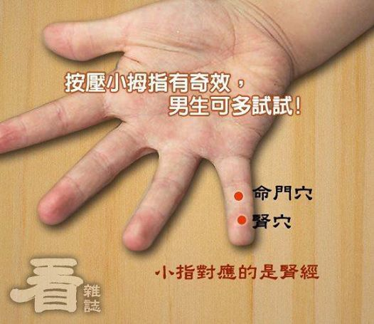 醫藥與健康-按摩小拇指