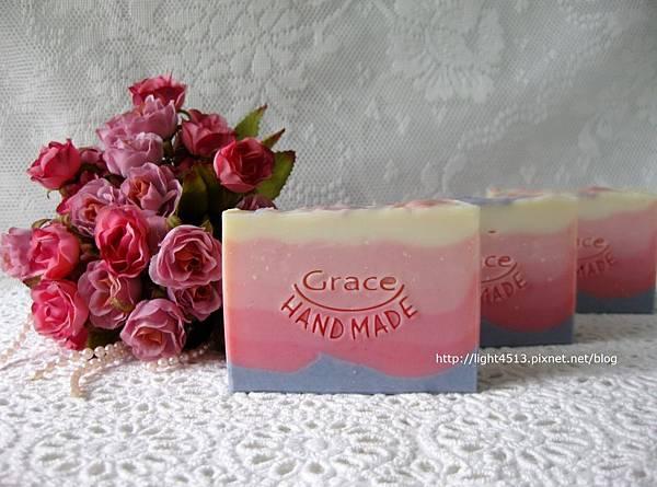玫瑰榛果皂