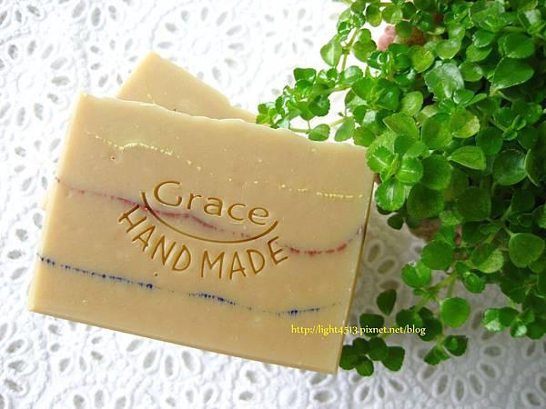 清新亞麻母乳皂