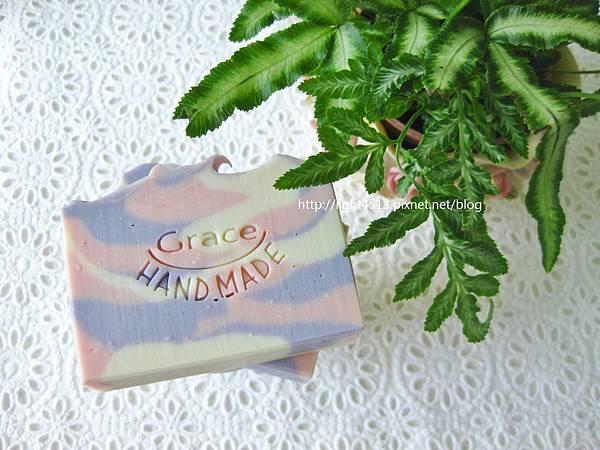 紫丁香山茶花皂