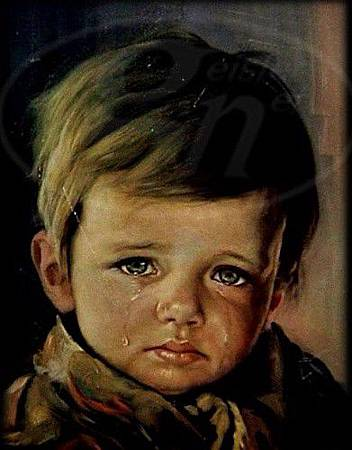 Crying_Gypsie_Boy, 1969, by Bruno Amadio