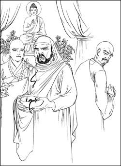 達摩祖師到中國,曾經被人下了六次毒