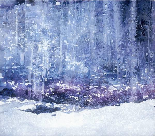 王建文,逝去的白霜 ,油彩、壓克力、畫布 ,140×160cm,2021.jpg