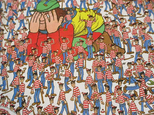 Where's Wally_one feet with no shoe_answer