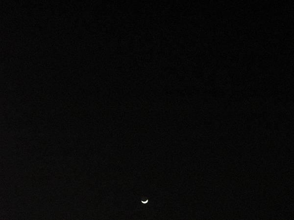 20141224 Christmas moon_1