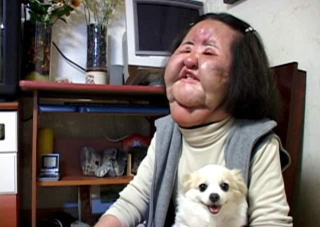 韓國整型失拜的電風扇阿姨 (1)