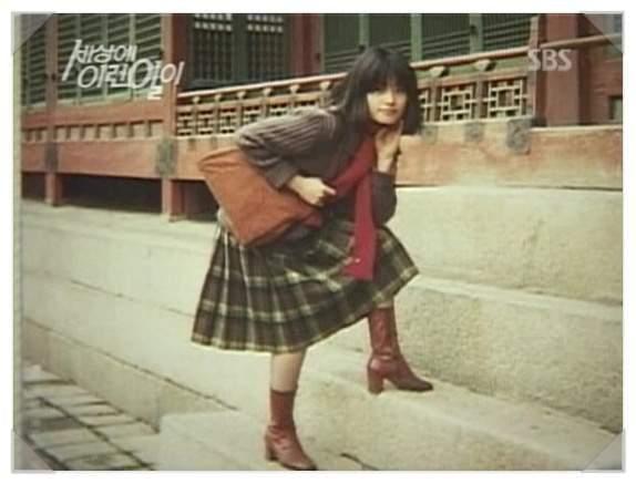 韓國整型失拜的電風扇阿姨(以前美麗的樣子) (4)