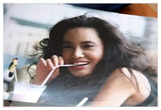 韓國整型失拜的電風扇阿姨(以前美麗的樣子) (2)