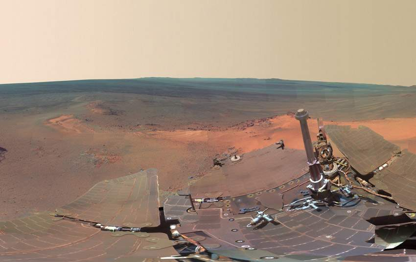 NASA火星全景圖 如臨現場 (0)