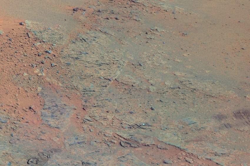 NASA火星全景圖 如臨現場 (4)