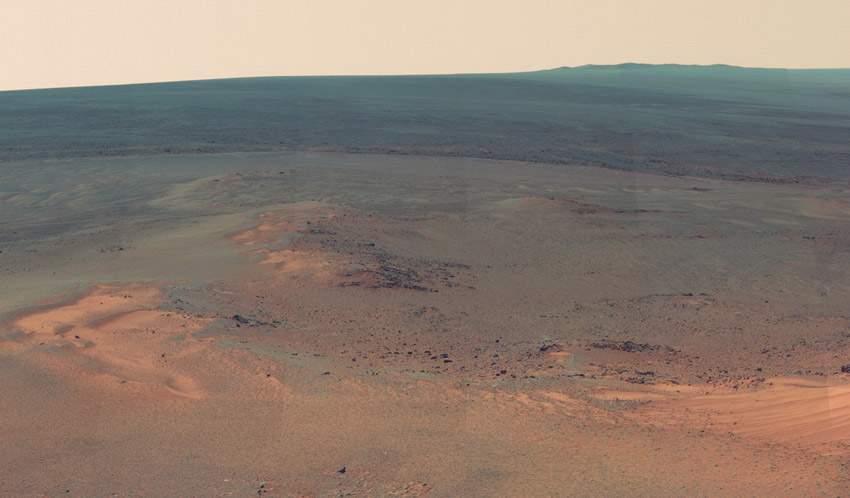 NASA火星全景圖 如臨現場 (3)