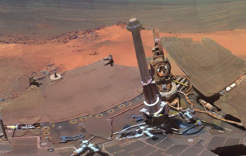 NASA火星全景圖 如臨現場 (5)