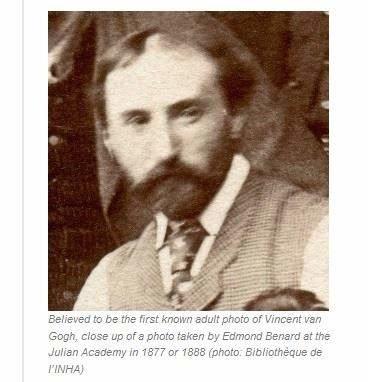 梵谷長這樣 歷史學家宣稱找到照片 (1)