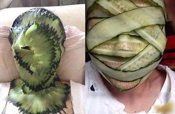 小黃瓜美容1