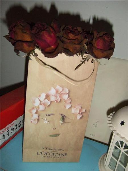 上次婚禮的花束..