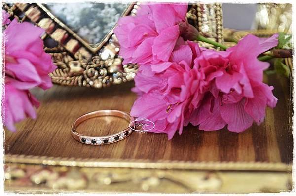 戒指-小王子的玫瑰花-玫瑰金