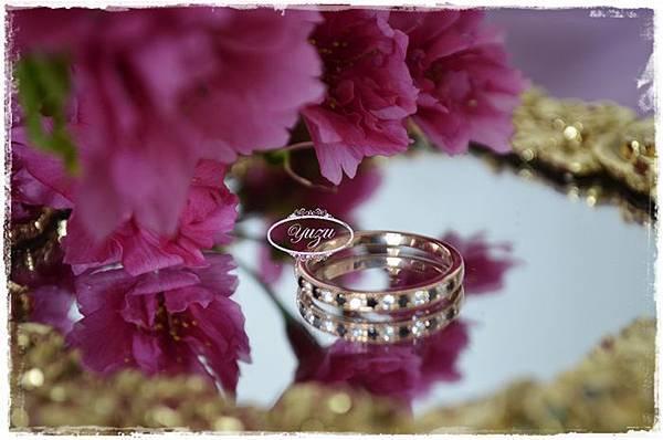 雙戒-小王子的玫瑰花-玫瑰金