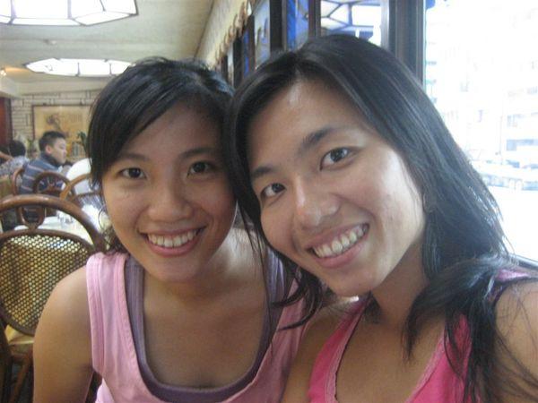 我的姐妹要去美國了~~一路順風喔!