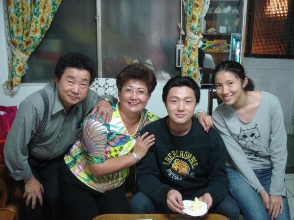 95年的母親節在阿姨家