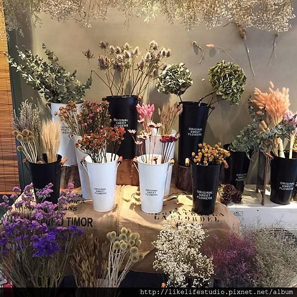 台北乾燥花店-乾燥花材料