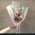 台北乾燥花店-喜歡生活乾燥花店-情人節乾燥花花束