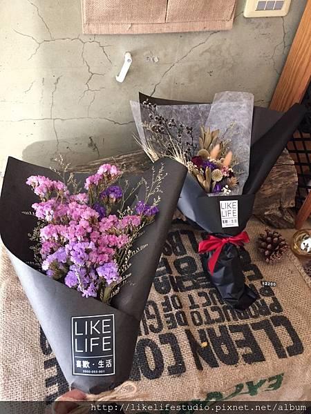 台北乾燥花店-星辰花包裝,星辰花束推薦