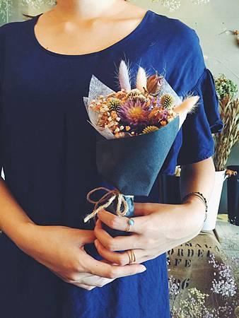 乾燥花推薦,喜歡生活乾燥花店-花束包裝