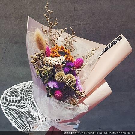 情侶一週年禮物推薦-戀愛圓舞曲花束