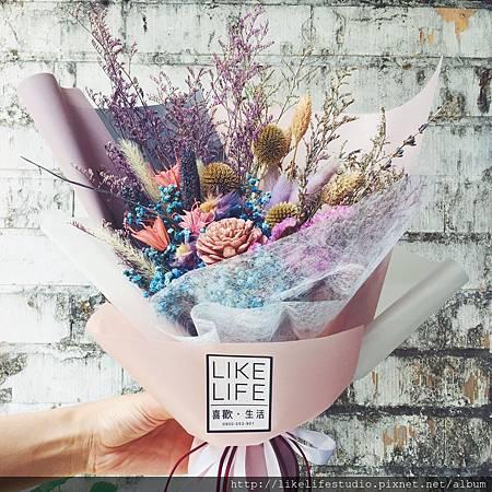 情侶一週年禮物推薦-乾燥花