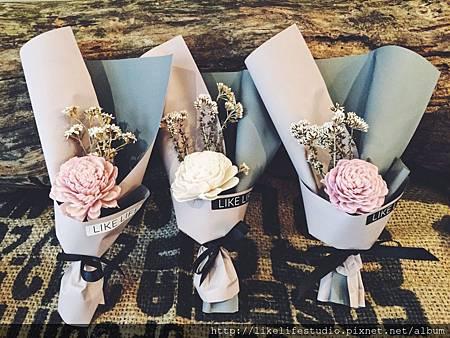 情侶一週年禮物推薦-可愛小花束