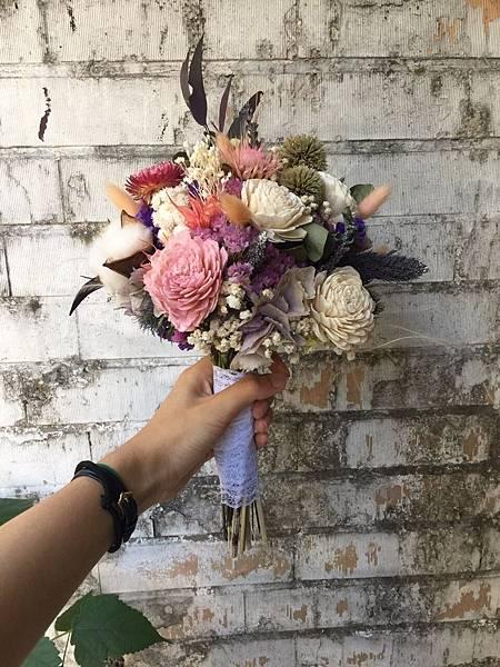 新娘捧花,喜歡生活新娘捧花2