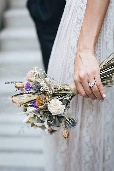新娘捧花,新娘捧花推薦,喜歡生活新娘捧花