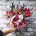 捧花,捧花台北推薦圖片正面捧花,捧花照片分享,手拿照