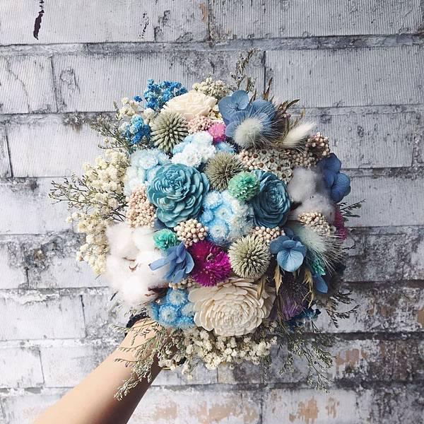 歐式捧花台北,新娘捧花台北推薦圖片紅色捧花,歐式捧花,分享照2
