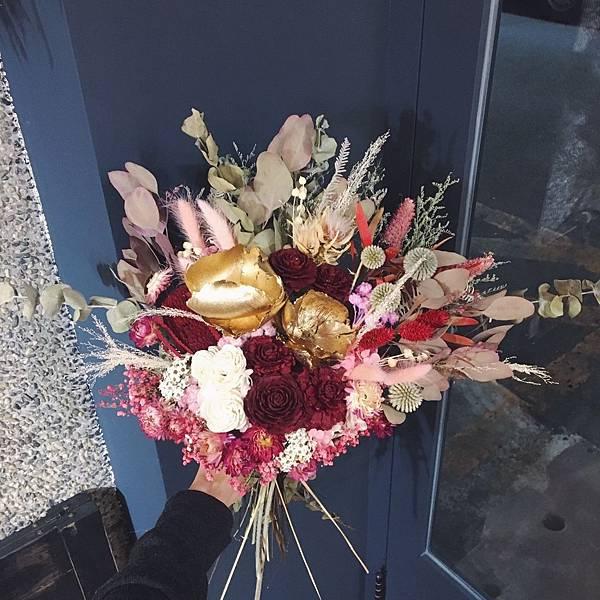捧花台北,新娘捧花台北推薦圖片紅色捧花,捧花,分享