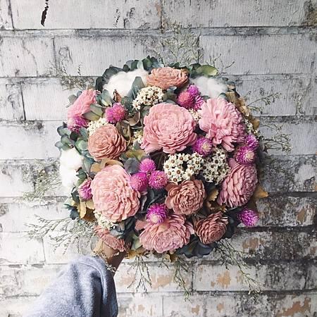 歐式捧花,台北新娘捧花台北推薦圖片紅色捧花,歐式手工捧花,淺色系分享