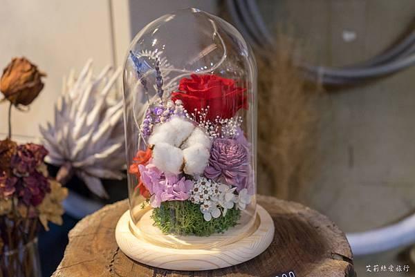 永生花玻璃盅罩