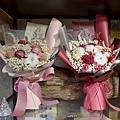 乾燥花束,台北乾燥花束紅色、粉色