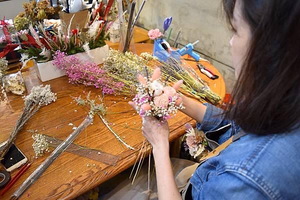 永生花課程,台北永生花店課程