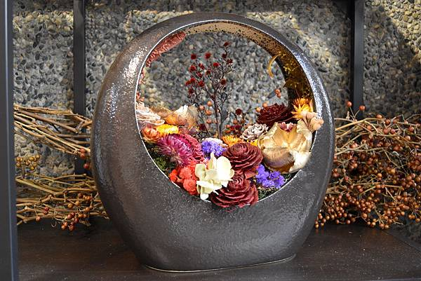 乾燥花盆器,乾燥花送禮推薦