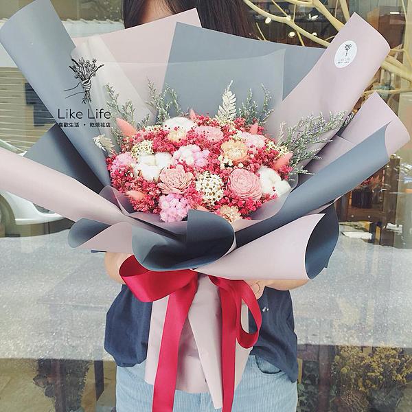 巨大花束,巨大乾燥花束台北巨型乾燥花束推薦