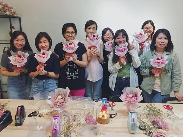 台北乾燥花課程教學,喜歡生活乾燥花課程教學