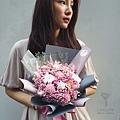 道歉花束粉色,道歉花束台北,喜歡生活乾燥花店