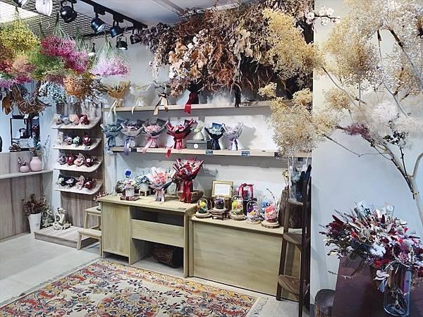台北質感花店推薦,台北喜歡生活乾燥花店店內照片.JPG