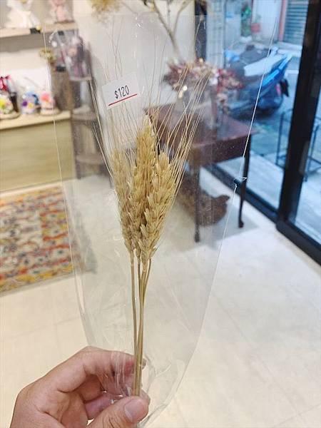 台北質感花店推薦乾燥小麥.JPG